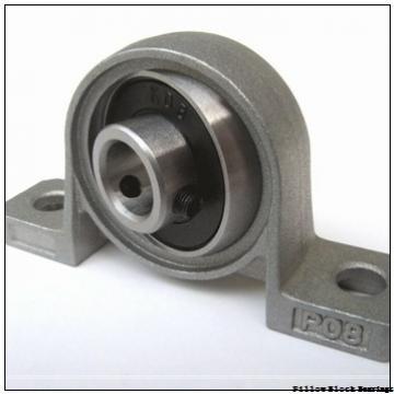 1.25 Inch | 31.75 Millimeter x 2.75 Inch | 69.85 Millimeter x 2.125 Inch | 53.98 Millimeter  DODGE P2B-DI-104RE  Pillow Block Bearings